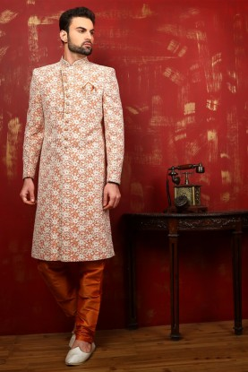 LUSTROUS WEDDING SHERWANI