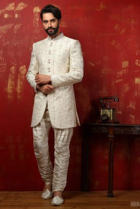 OFF WHITE COLOUR MARVELOUS LOOK INDOWESTERN