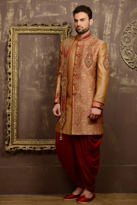 GOLD COLOUR MARVELOUS LOOK INDOWESTERN