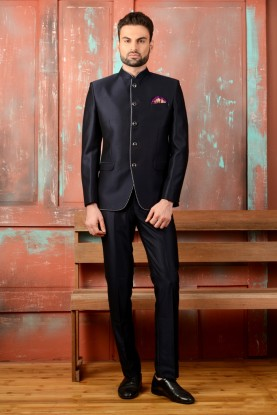 Black COLOR JODHPURI DESIGNER SUIT