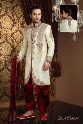 WEDDING DHOTI INDOWESTERN