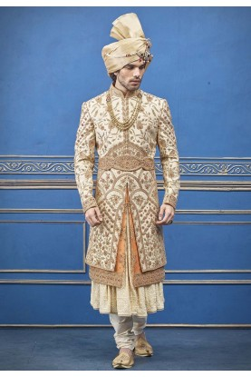 Indian mens wear wedding sherwani