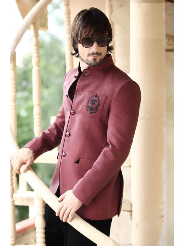 Designer Jodhpur Blazer Mens Wedding Suits Online
