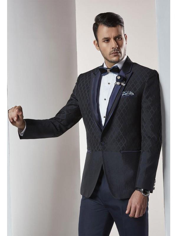 Designer Suits for Men Black,Blue Color Designer Wedding Suit
