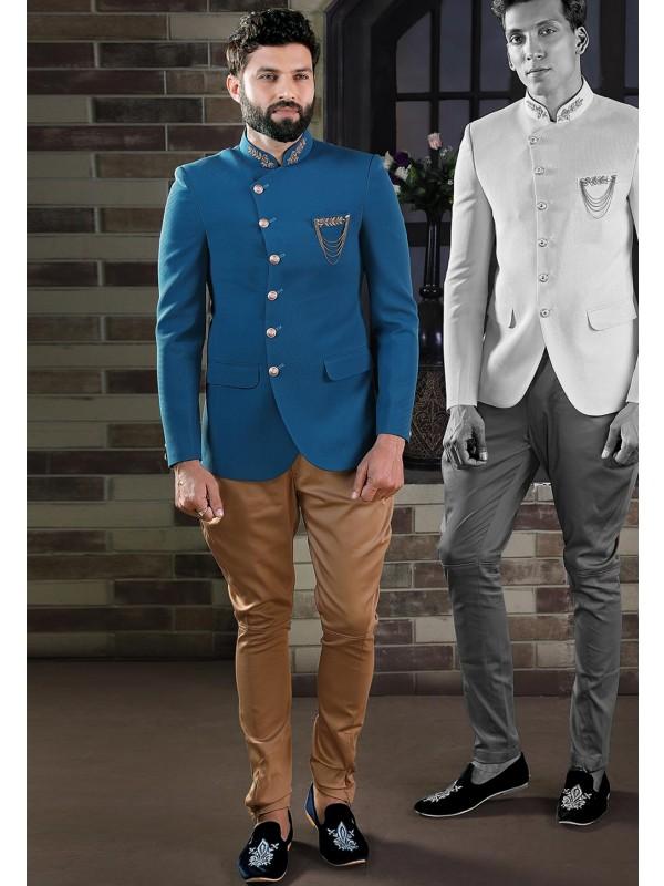 Exclusive Designer Jodhpuri Suit Imported Fabric.