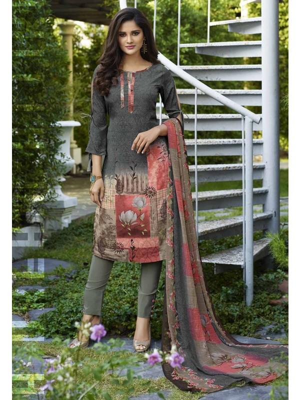 Salwar Suit Multi Colour.