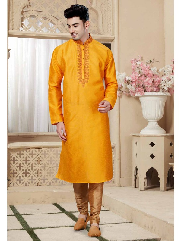Buy Yellow Color Indian Designer Kurta Pajama Boys