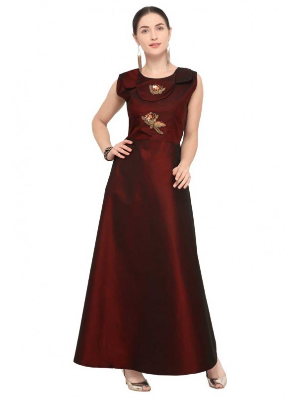 Brown Colour Party Wear Stylish kurti online