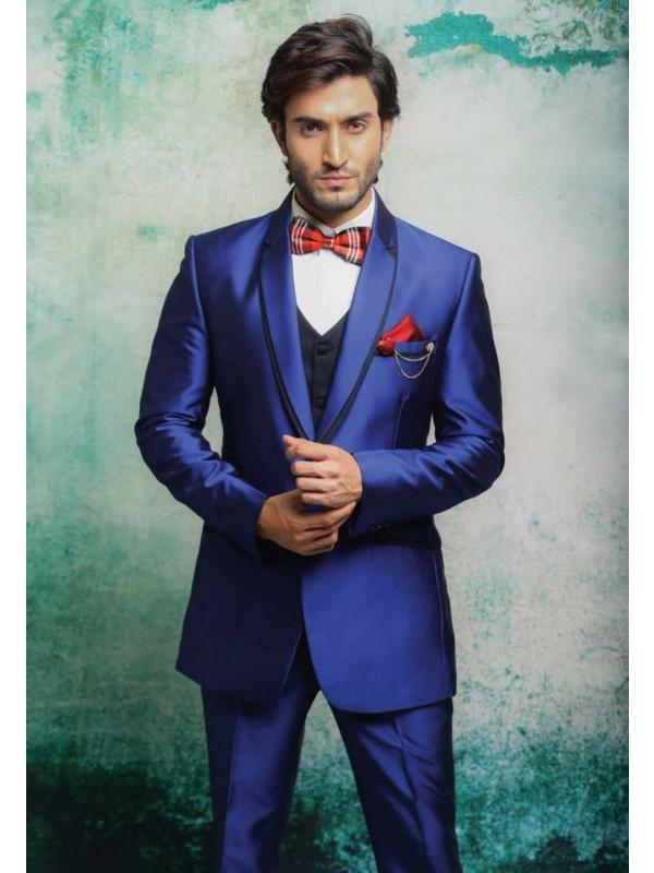 Best Wedding Suits for Men in Auspicious Looking Blue Color