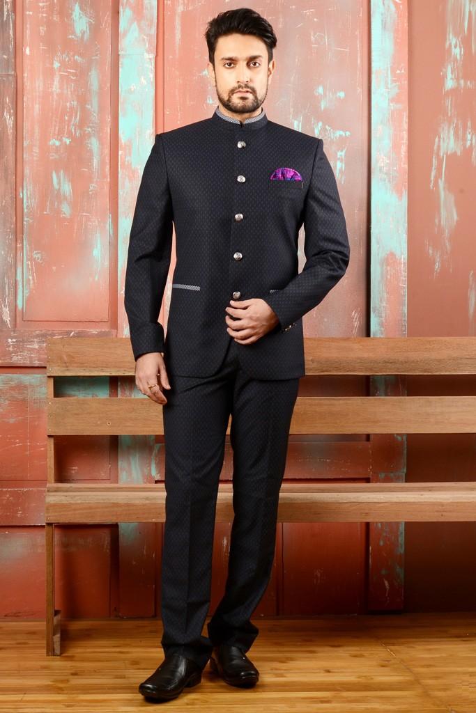 Black Color Rajwada Style Jodhpuri