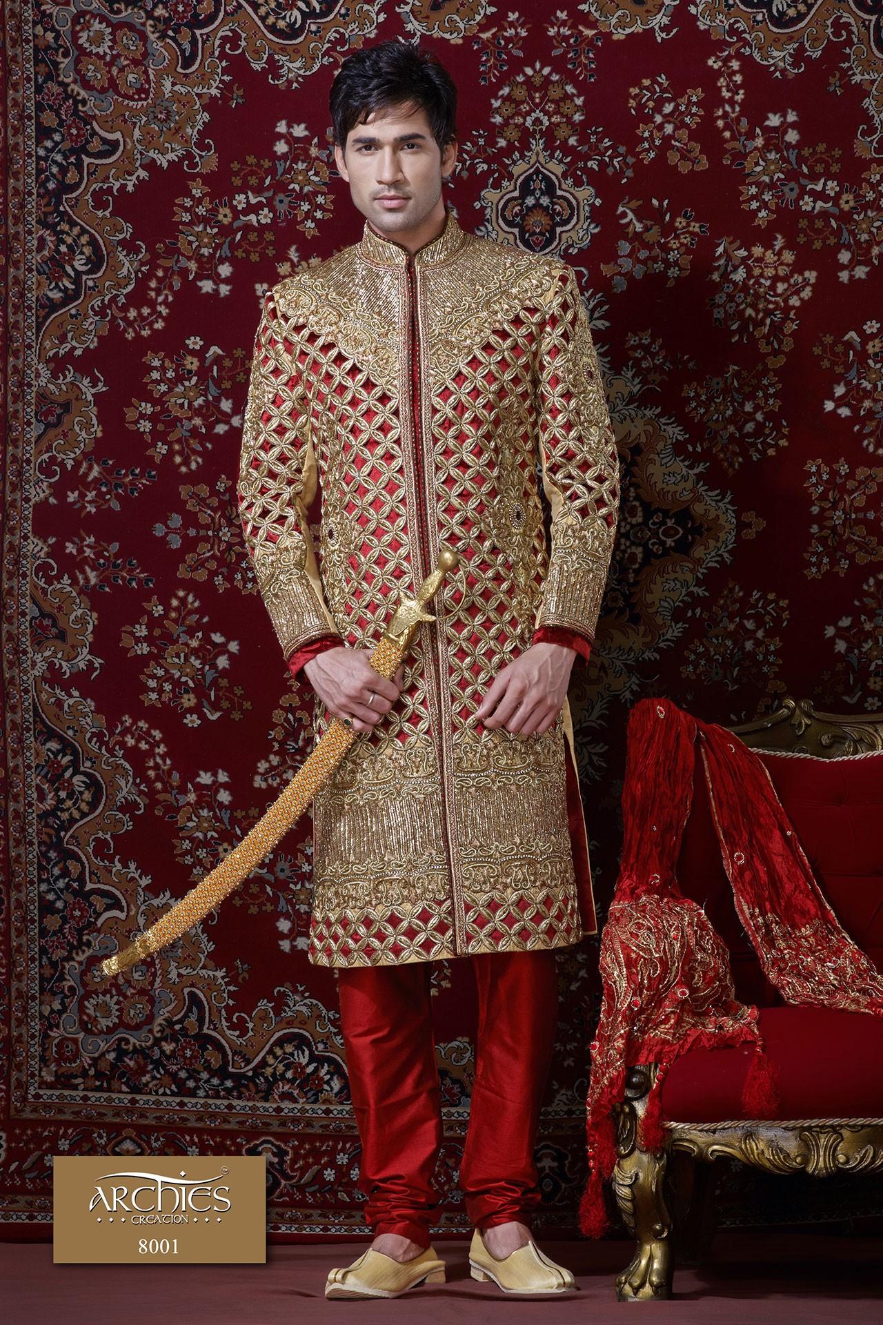 LUSTROUS WEDDING SHERWANI