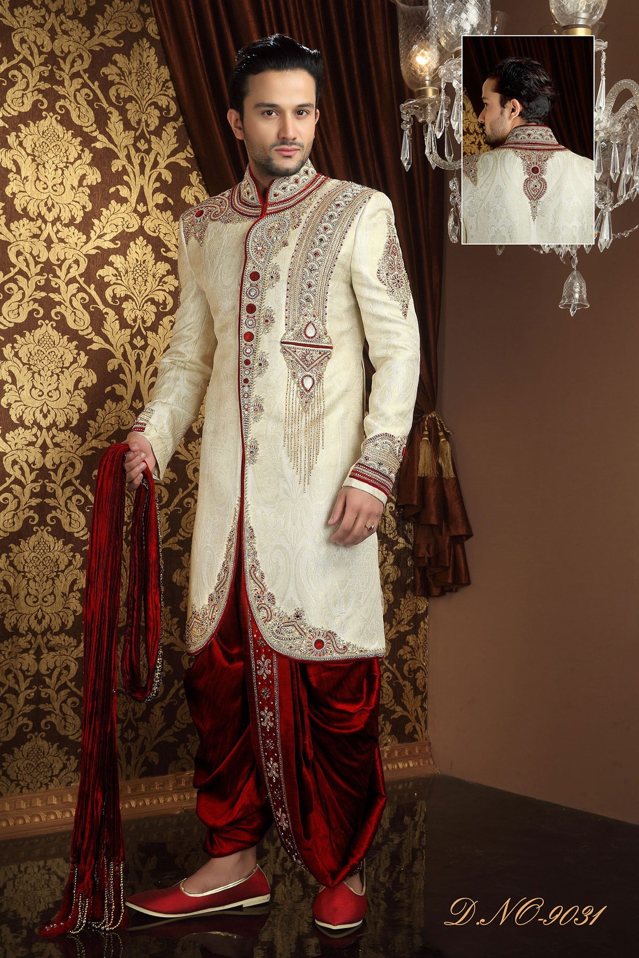 Online Designer Wedding Sherwani for Mens