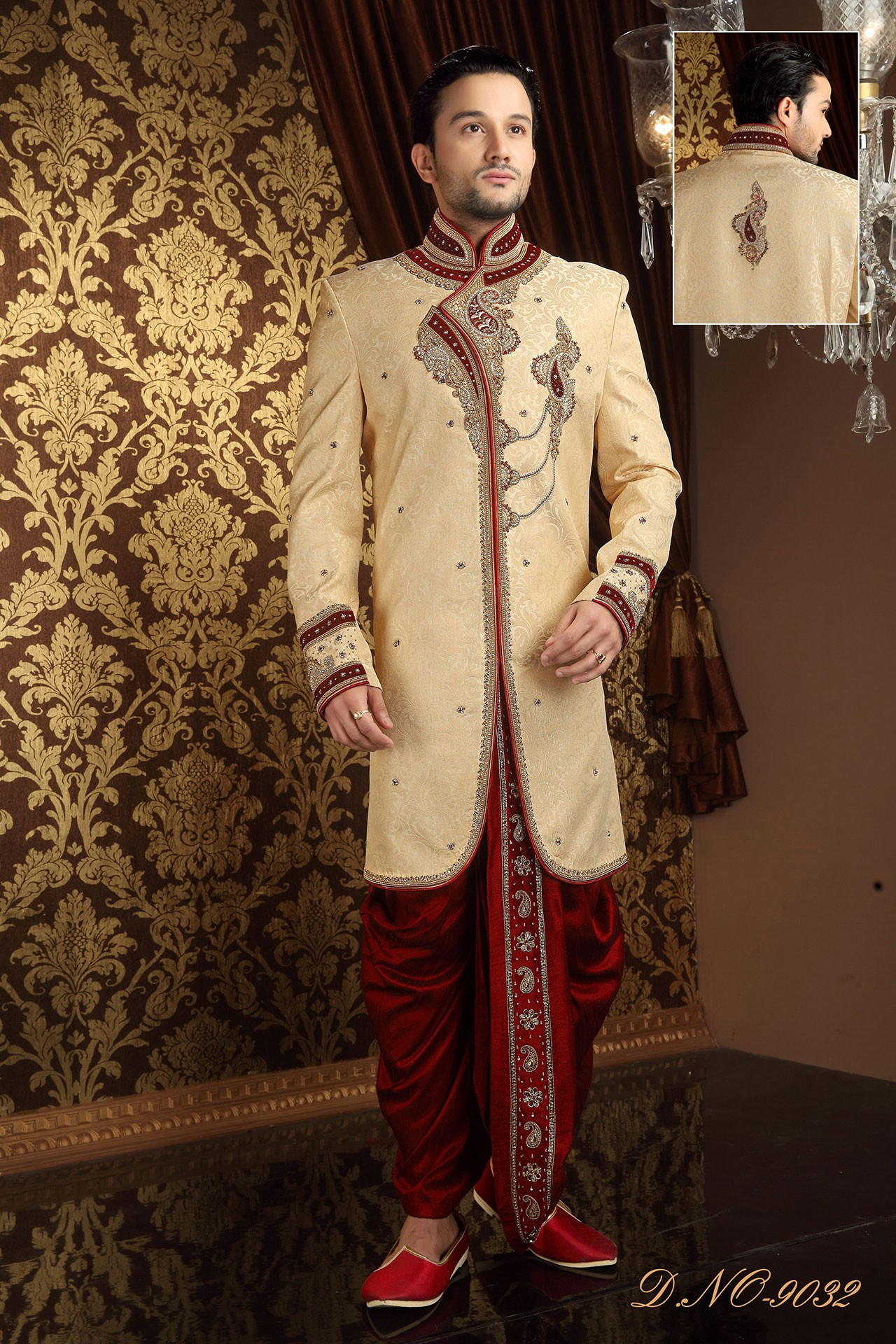 Buy Wedding Designer Sherwani for Mens Online