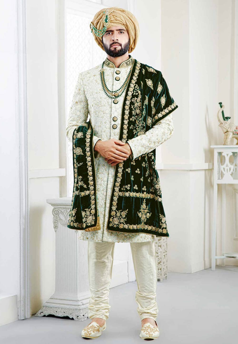 Buy designer sherwani for Indian Wedding