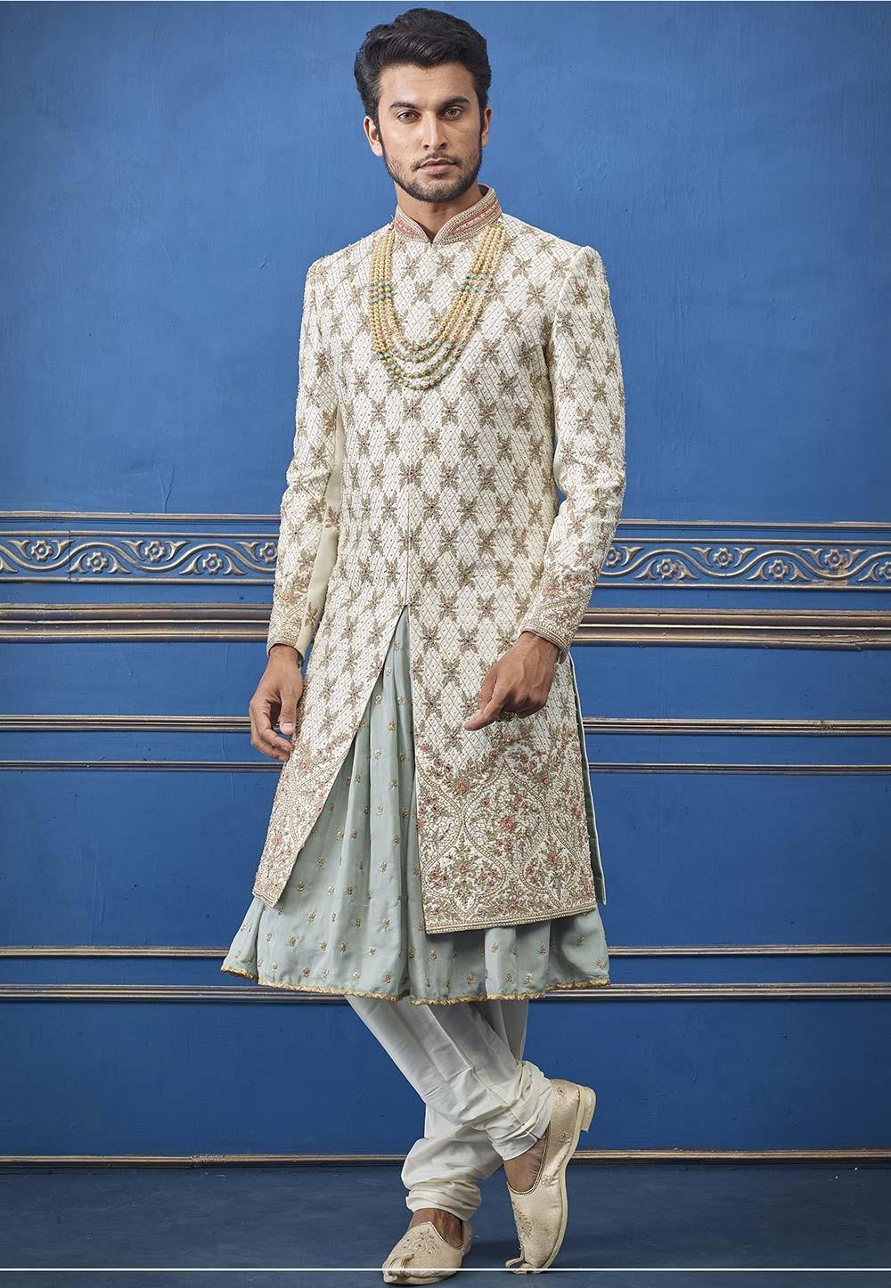 Indian Wedding Sherwani.