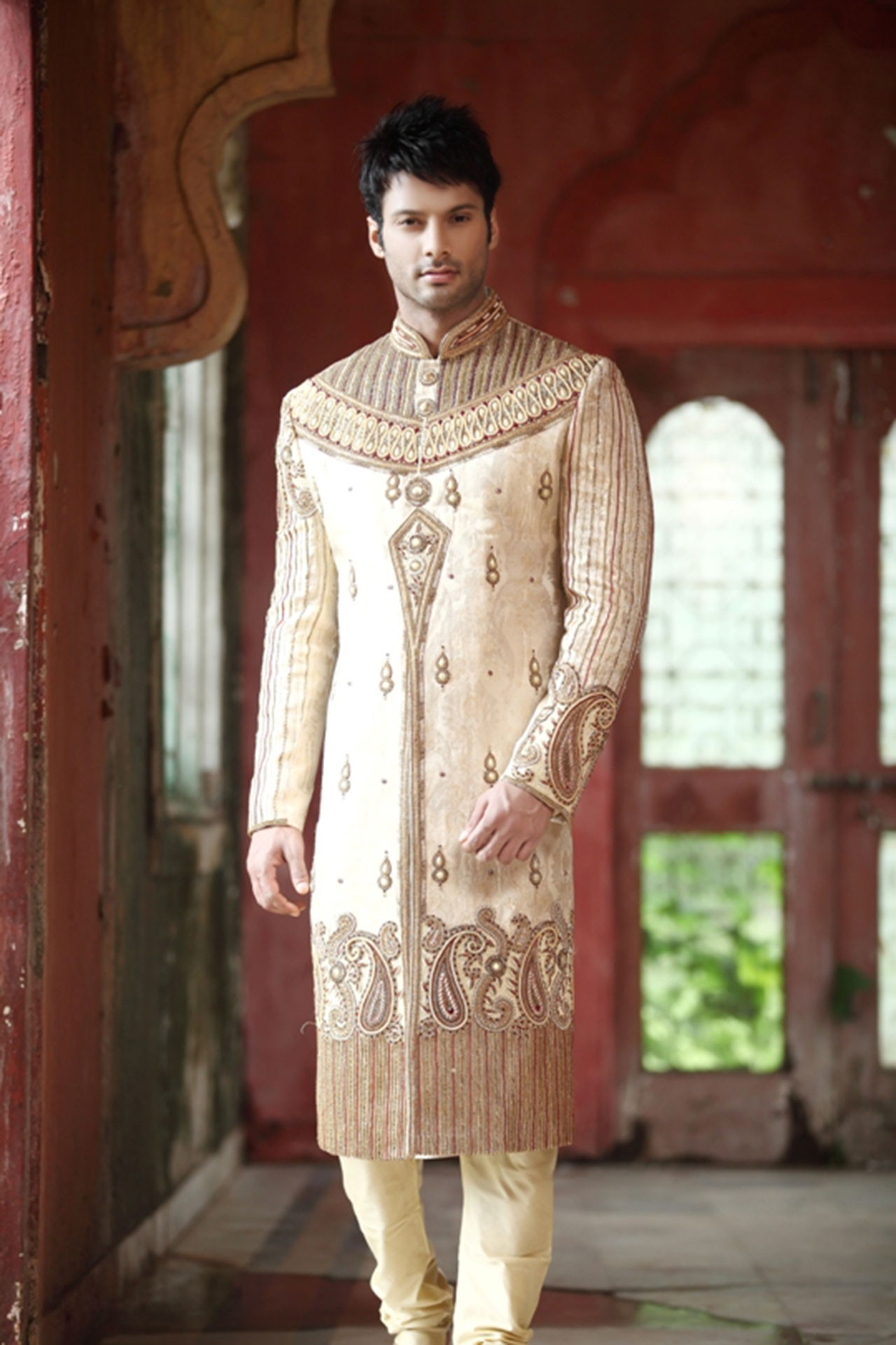 ARTISTIC WEDDING SHERWANI