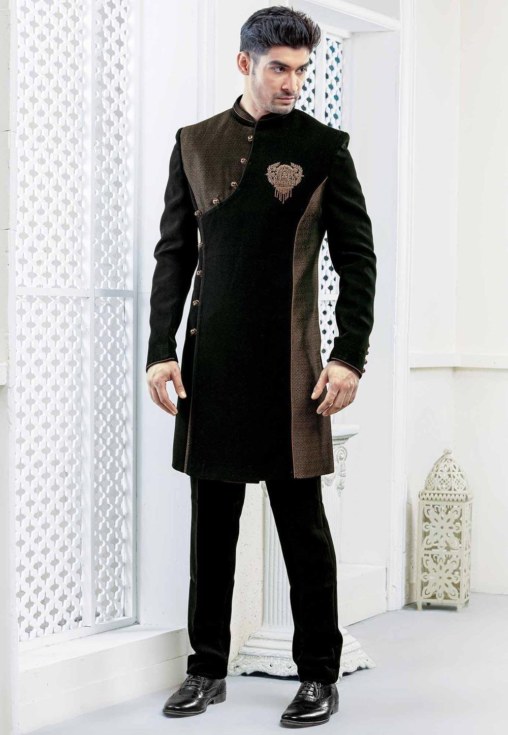 indowestern dress for men
