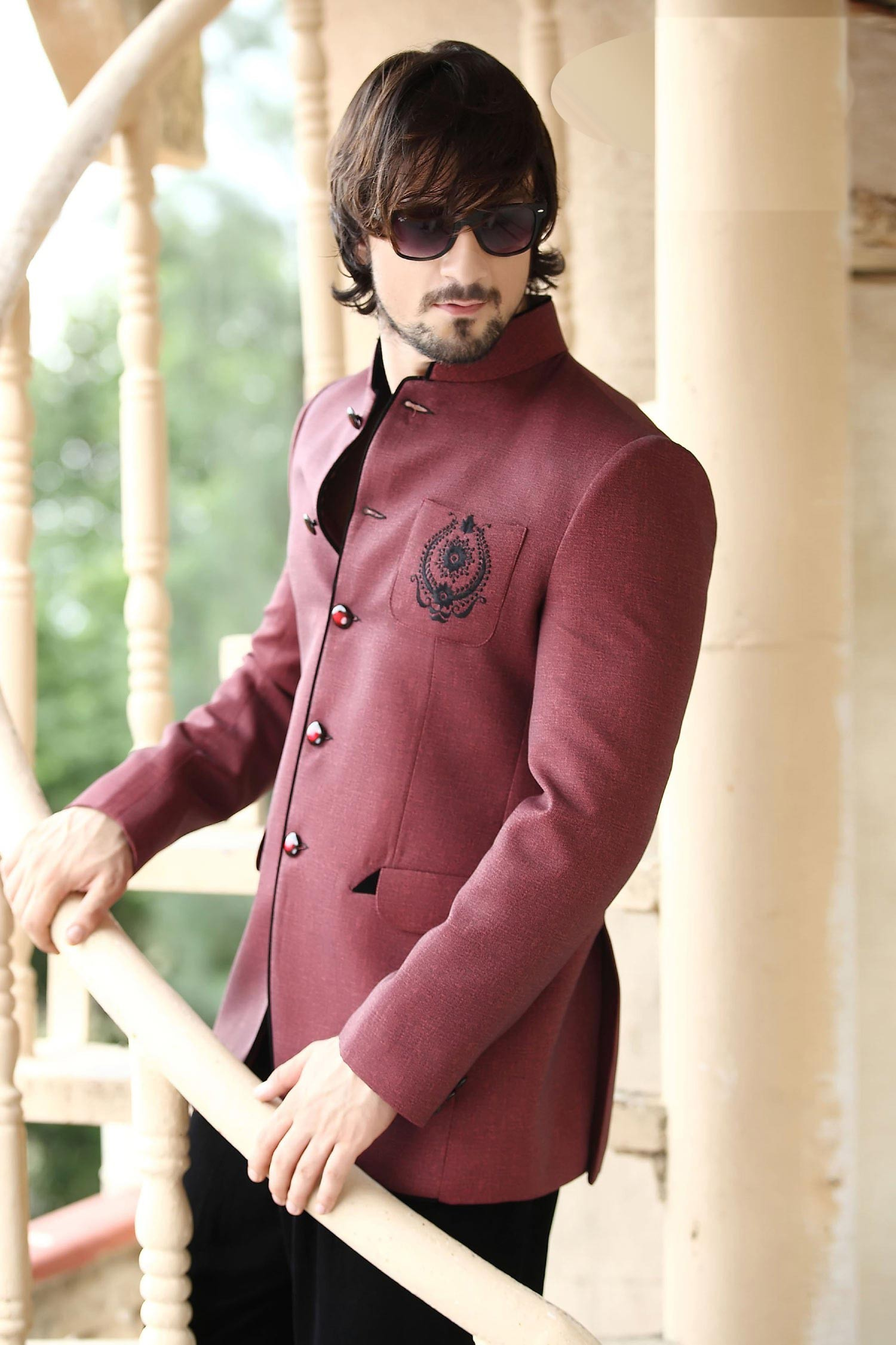 Designer Jodhpur Blazer Mens Wedding Suits Online