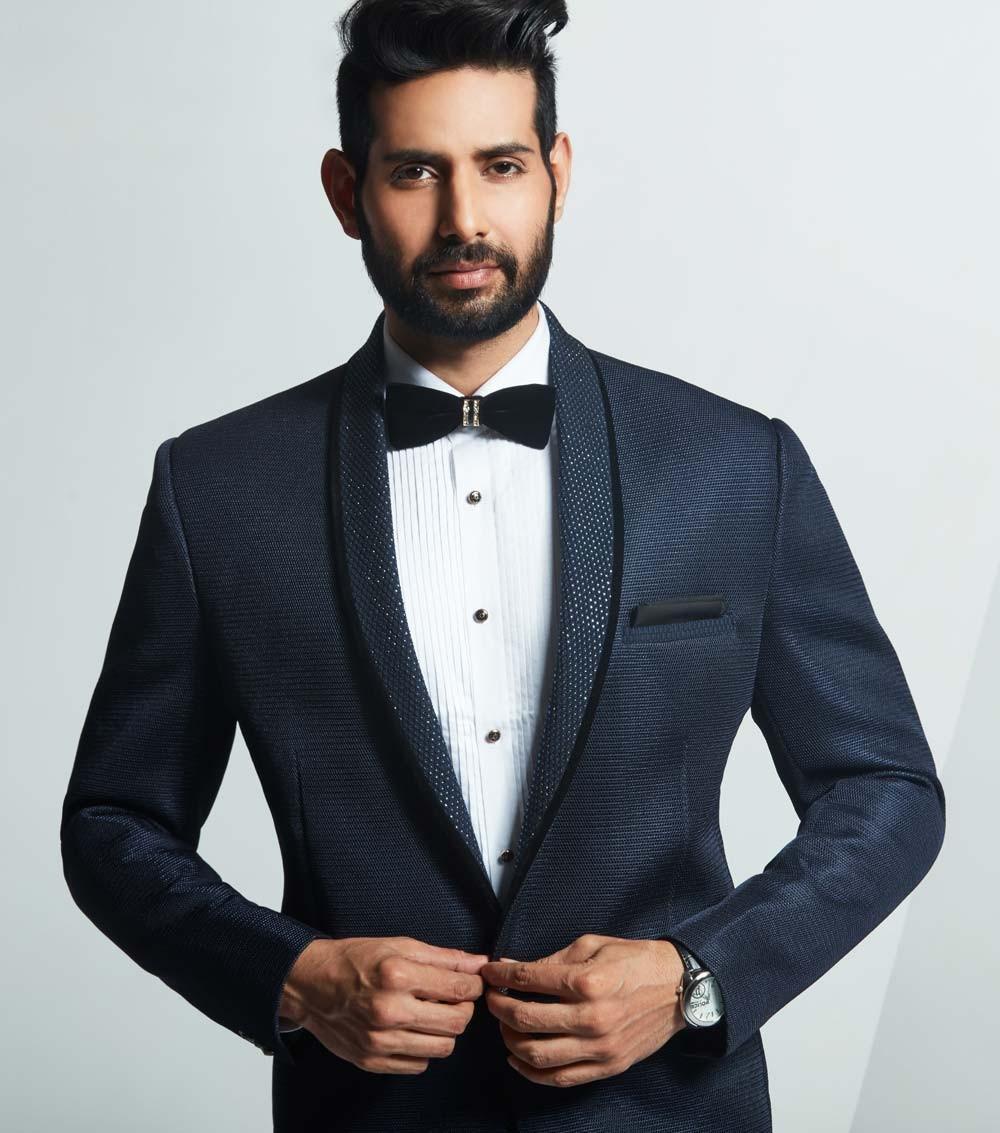 Best Wedding Suits for Men in Designer Blue