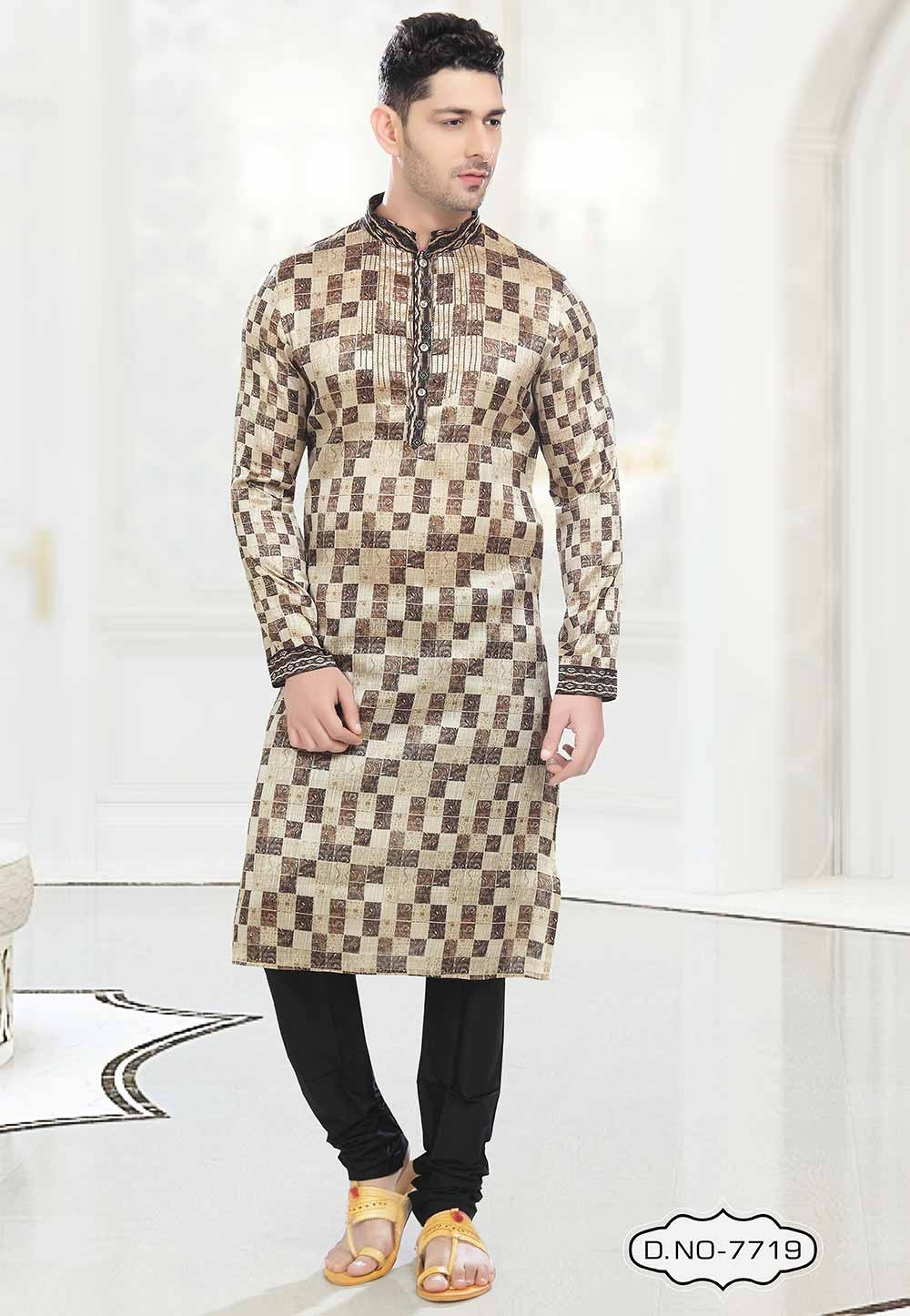 Brown Colour Kurta pajama for mens