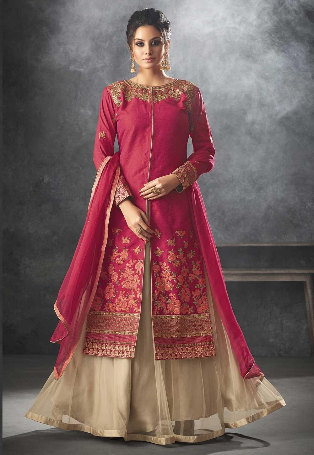 Pink Color Designer Salwar Suit.