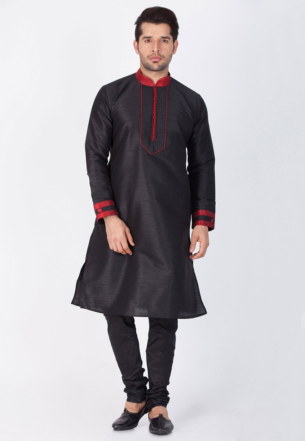 Black Color Kurta Pajama.