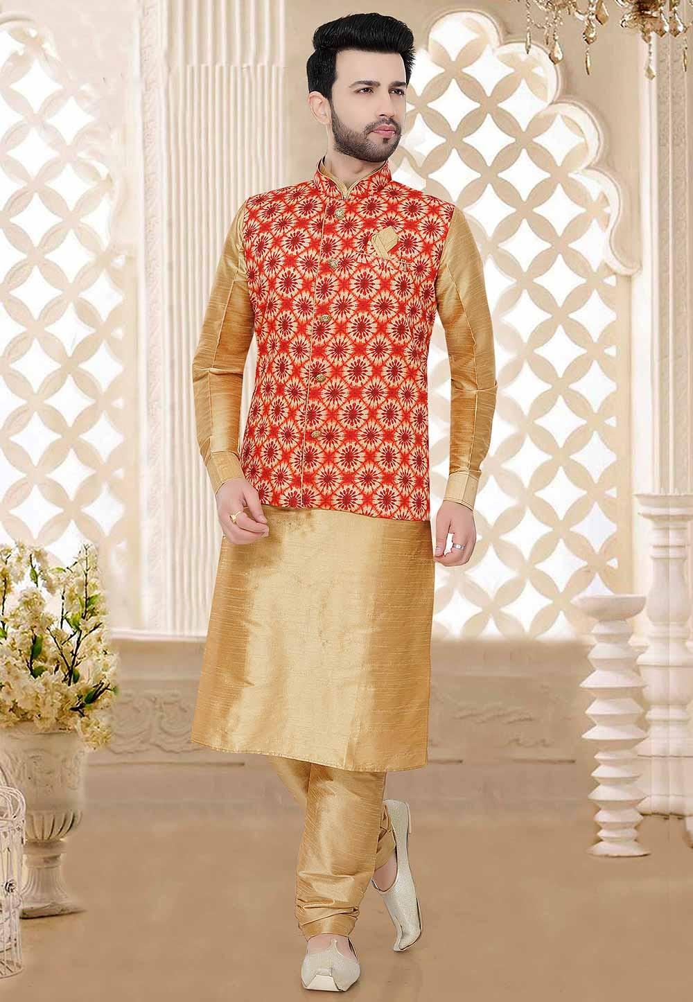 Indian Designer Kurta Pajama.