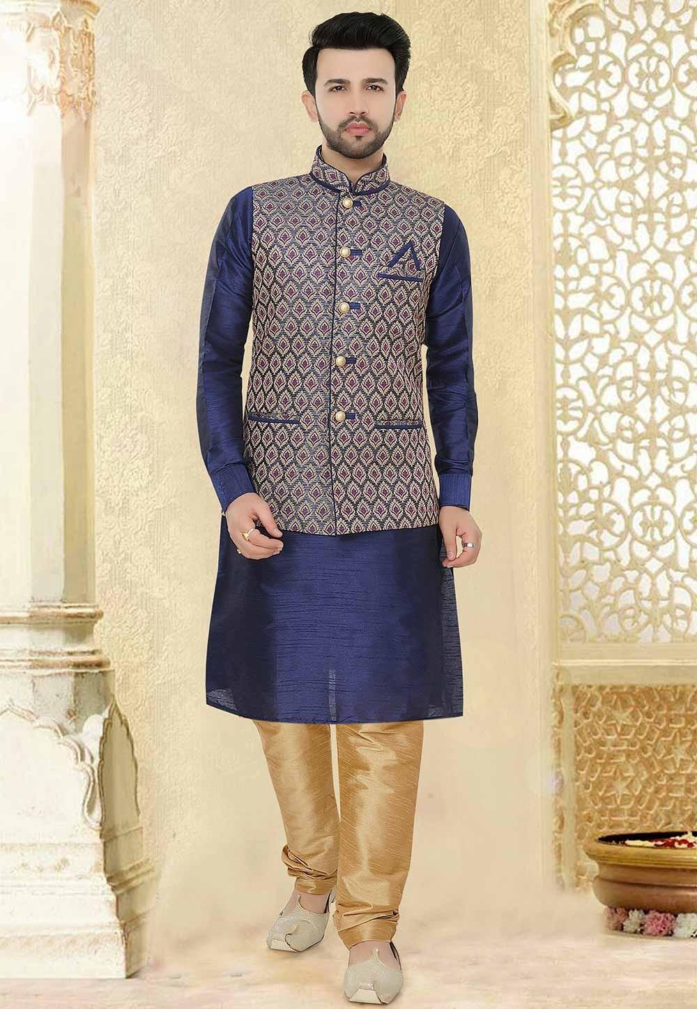 Indian Style Kurta Pajama.