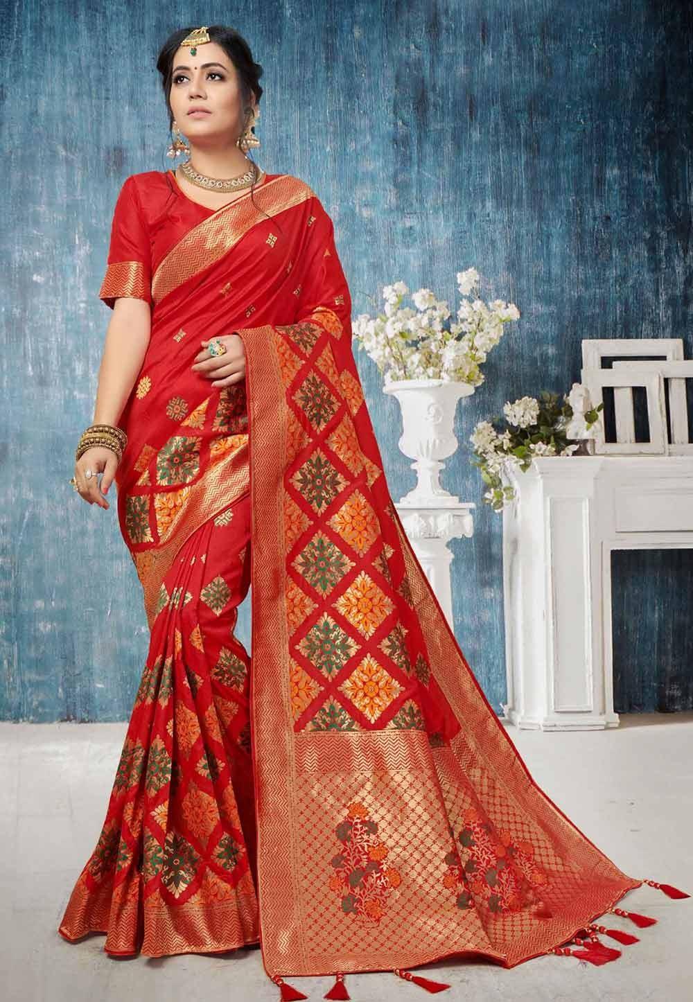 Banarasi Silk Designer Saree.