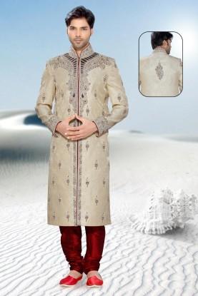Buy maroon mens designer sherwani