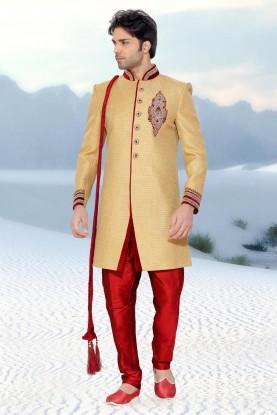 Golden Jute Men's Indo Western