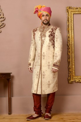 FAWN EXCLUSIVE LOOK SHERWANI