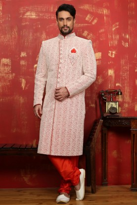 INDIAN WEDDING BRIDEGROOM SHERWANI