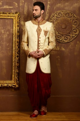 BEIGE COLOUR MARVELOUS LOOK INDOWESTERN