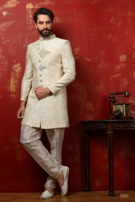 OFF WHITE COLOUR ASTONISHING INDOWESTERN