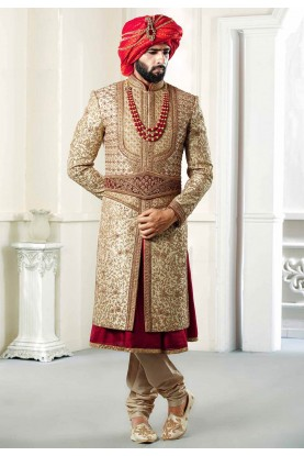 Buy designer Majestic Royal sherwani for groom