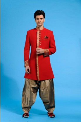 Exotic Red Men`S Wear