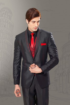 Buy black best wedding suits for men