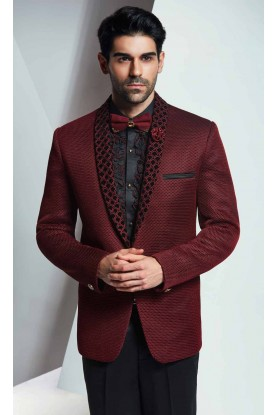 Best Wedding Suits for Men in Designer Maroon Color