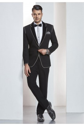 Designer Suits for Men Black Color Designer Tuxedo Suit