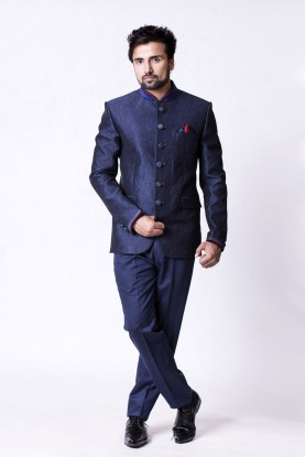 Bandhgala auspicious Traditional Jodhpuri Suit for Mens Online USA