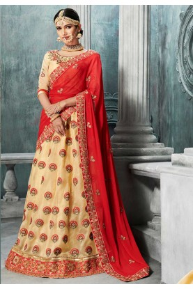 Pink Color Designer Bridesmaid Lehenga Online