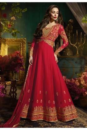 Red Color Bollywood Salwar Kameez Online