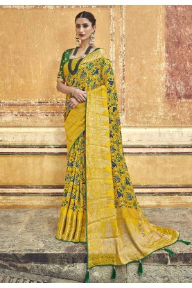 Silk Party Wear Saree.
