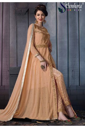 Orange Colour Women's Salwar Suit.