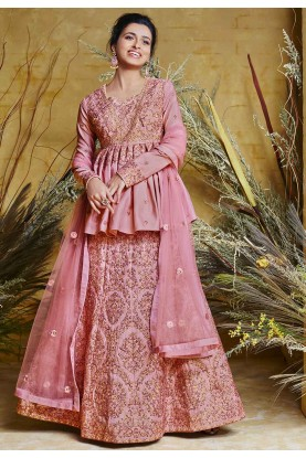 Pink Colour Wedding Salwar Kameez.