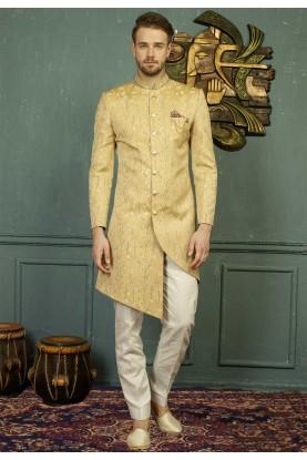 Golden Color Indo western dress for men