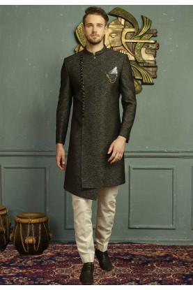 Grey,Black Color Indo western dresses for men