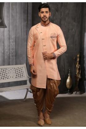 Banarasi Silk Semi Indowestern.