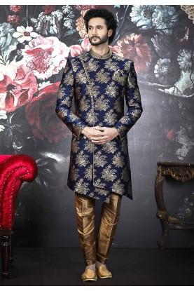 Blue Colour Men's Designer Indo.